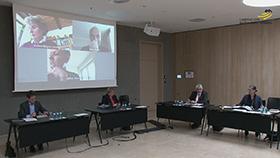 Blick in den Sitzungssaal im Bürger- und Medienzentrum